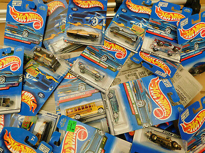 Hot Wheels 1:64 - USA Ware - Long Card - 5er/10er/20er/30er/40er/50er/100er Sets