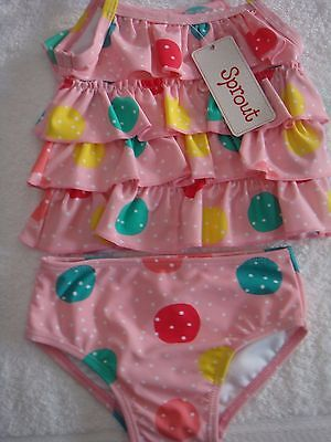 Sprout Baby Girls Swimmers Bnwot Size 2