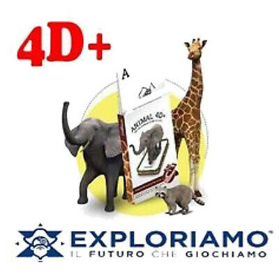 Carte 4D Plus Animali Realtà Aumentata Exploriamo PS 08673