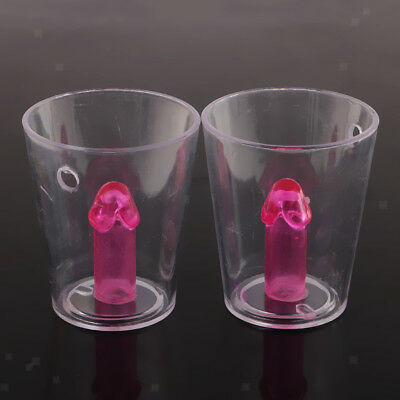 12 x Shot Glass Girls Night Out Hen Party Accessories Fun Drinking Game