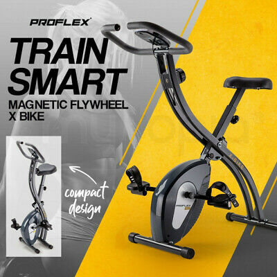 NEW PROFLEX Spin Bike - Flywheel Commercial Gym Exercise Home Workout Grey