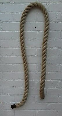 old gym rope 2 metres thick rope vintage, 10 available
