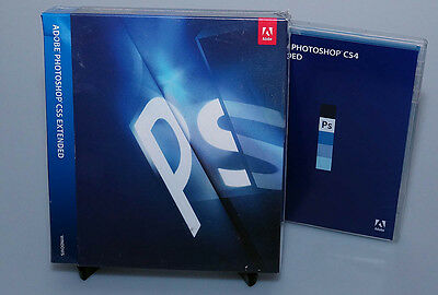 Adobe Photoshop CS5 Extended for Windows retail new genuine product