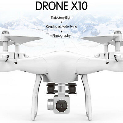 X10 2.4Ghz Quadcopter Camera WIFI FPV Headless Mode Altitude Hold RC Drone UK