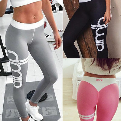 Sexy Women Sports Gym Yoga Workout Mesh Leggings Fitness Leotards Athletic Pants