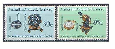 Australian ANTARCTIC Territory 1984 Pole 75th (2) Unhinged Mint SG 61-62