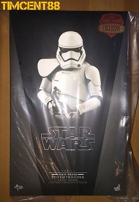 Ready! Hot Toys Star Wars First Order Stormtrooper Squad Leader 1/6 Exclusive