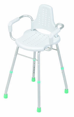 GORDON ELLIS Prima Modular Shower Stool / Chair with Arms and Backrest