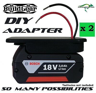 DIY Project 18v Bosch Battery Adapter