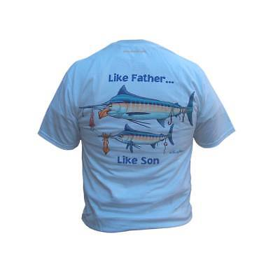 tee-shirts peche aftco like father