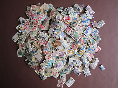 Tunisia - over 100g weight - several thousand stamps - good variety - see below