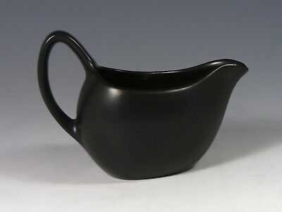 1960's Midwinter Stylecraft Small Black Milk Jug