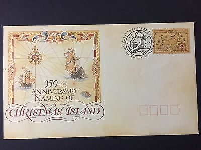 Christmas Island 1993 Naming First Day Cover