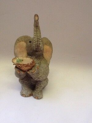 Tuskers Elephant ~ William ~ Hand Painted~ VGC