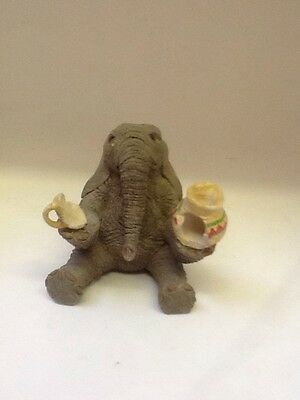 Tuskers Elephant ~ Norman ~ Hand Painted~ VGC