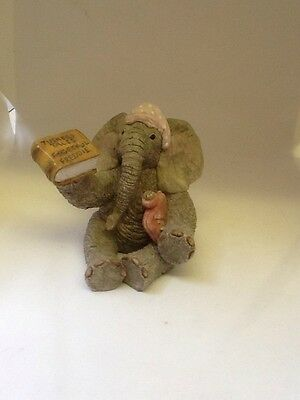 Tuskers Elephant ~ 90451~ Little Hetty~ My Turn Daddy ~Hand Painted~ VGC