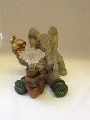Tuskers Elephant 46945~ Paul The Plumber~ Hand Painted~ VGC