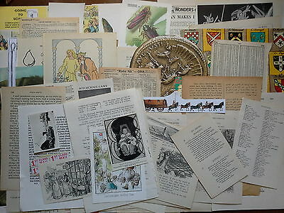 NEW Collage paper pack, 50 pc, vintage papers, for artwork, cards, etc,