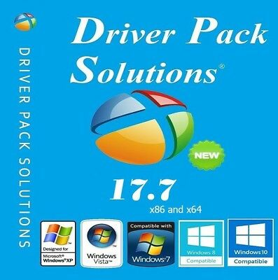 Driverpack Driver Pack Solution 17.7 Drivers DVD FOR WINDOWS 7 8 10