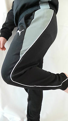 Great Puma Children's Tracksuit Bottoms Sports Size 116 128 140 152 164 176