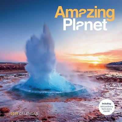 Amazing Planet Official 2018 Square Wall Calendar