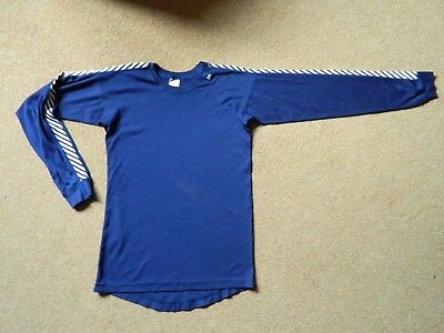 Men's Helly Hansen Crew Neck Long Sleeve Base Layer size Small in Blue
