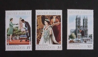 Barbados 1977 Silver Jubilee MNH UM unmounted mint eu