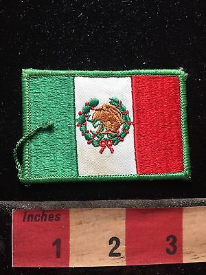 Mexican Flag Themed Patch ~ Mexico 74B9