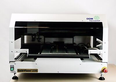 DDM Novastar LE40V Benchtop Automated Pick & Place with Vision Centering