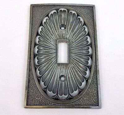 Vtg 1974 American Tack & Hardware Single Light Switch Cover Metal Wall Plate 53T