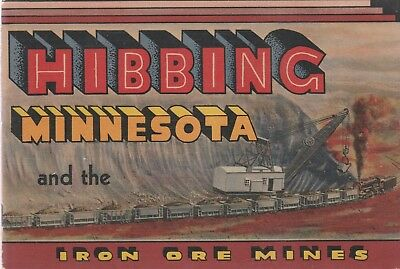 Hibbing Minnesota And The Iron Ore Mines 1947 Brochure