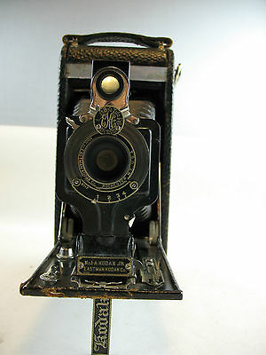 Kodak no. 1A autographic Kodak JR. folding camera with stylus 1916 patent