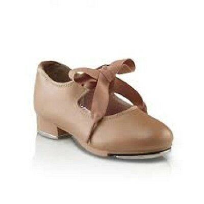 New Capezio Tap Shoe Jr. Tyette #625 in TAN Child and Adult