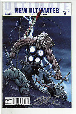 Ultimate New Ultimates (2010) #4 Signed by Frank Cho no COA First Print VF+