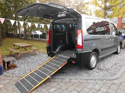 Peugeot expert tepee, 1.6HDI, 6 seat, wav, wheelchair accessible, disabled ramp