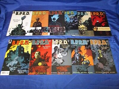 BPRD The Black Flame (2005) 1-5 Universal Machine (2006) 1-5 1st Prints VF to NM