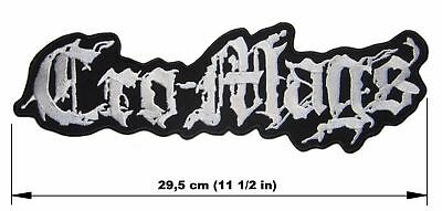CRO-MAGS logo BACK PATCH embroidered NEW thrash crossover hardcore punk