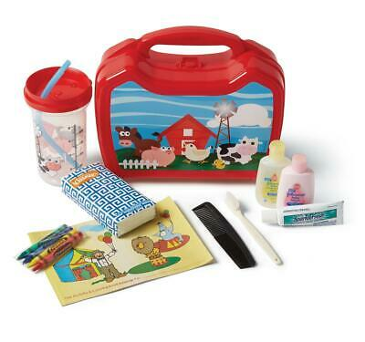 Medline Pediatric Lunchbox Admin Kit for Younger Patients, Farm Design