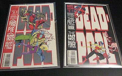 DEADPOOL, The Circle Chase #2, #4 1993 (VF+/NM-)  +  2nd Mini Series, #4 (VF/NM