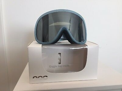 POC Retina BIG Ski Snowboard Goggles Helium Blue NEW in box FREE SHIPPING