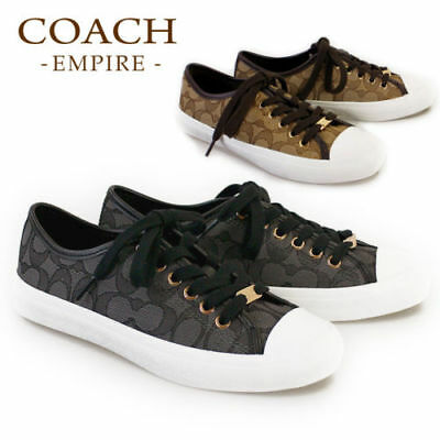NWB Coach Coach Empire Women's Signature Tennis Sneakers MSRP $110