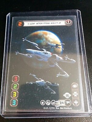 X-Wing Miniatures - Aurebesh Double-Sided FFG Promo Card
