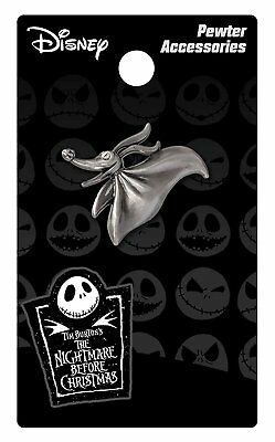 Nightmare Before Christmas Zero Pewter Lapel Pin