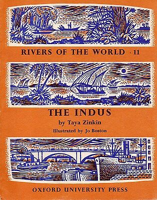 RIVERS OF THE WORLD Series, Book #11 – THE INDUS   China India  1962  RARE