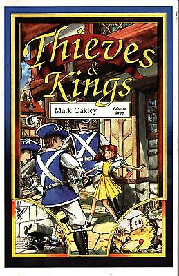 THIEVES & KINGS, Vol 3 (Blue Book) & Vol 4 (Shadow Book - SIGNED)  Mark Oakley