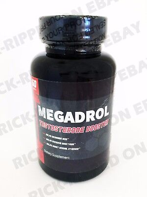 Megadrol Clinical Strength Testosterone Booster Testo Max Pre Workout w/ Nettle