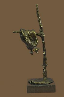 Bronze Sculpture Statue Abstract Modern Melting Clock by Salvador Dali Gift BB