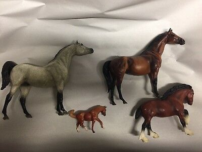Breyer Lot Of 4 Bodies For Customizing