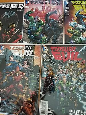 Forever evil comic lot 1,2,3,4 and 6