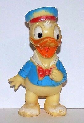 Vintage/retro Combex Donald Duck Vinyl Squeaky Toy